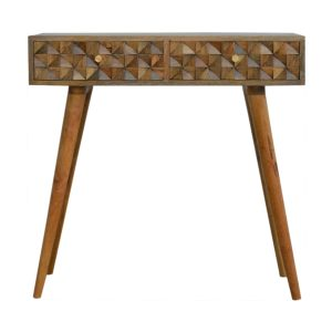 Hand Crafted Solid Wood Console Tables