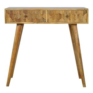 Pinapple Style Console Table