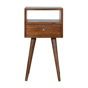Hand Crafted Solid Wood Furniture with Walnut Finish
