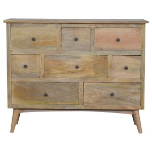 Scandinavian Style Chest with 8 Drawers