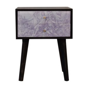 Avanti Garden of Venus Bedside Table with 2 Drawers