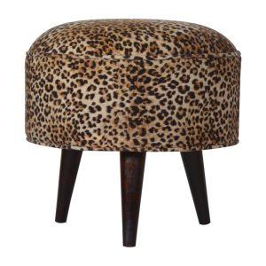 Hand Crafted Solid Wood Velvet Fabric Furniture
