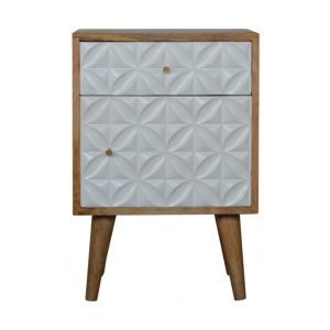 Hand Crafted Solid Wood White Painted Furniture