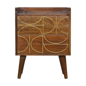 Hand Crafted Solid Wood Furniture with Inlay